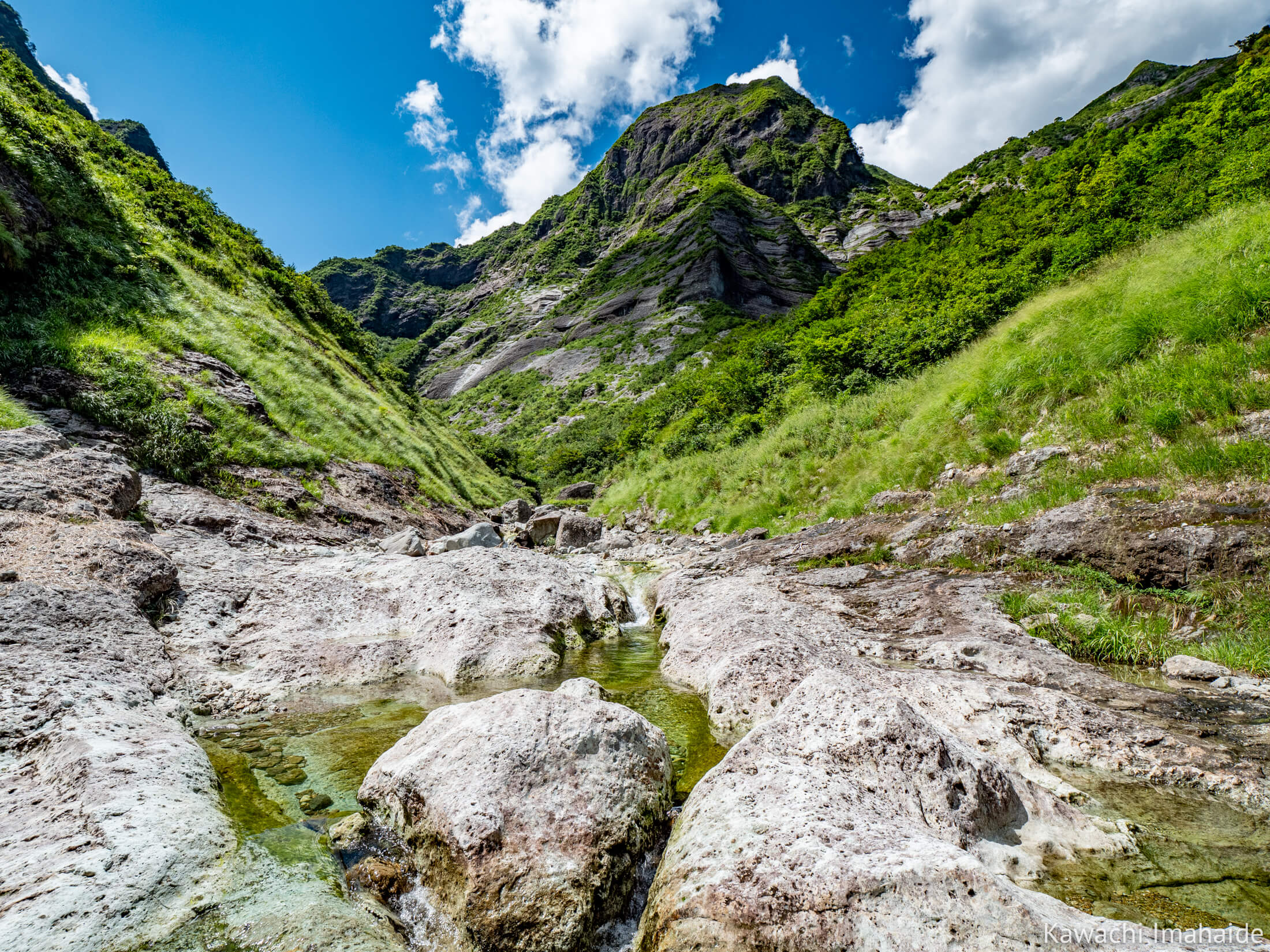 山と溪の国